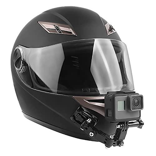 PROGARMENTS 19 Stücke Helmhalterung für GoPro, Motorradhelm Halterung Gopro 360° Helmhalterung für GoPro aus Kunststoff PC für Sport Action Kamera Xiaomi DJI USW.