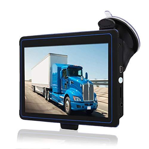 Navigatore GPS per Auto Localizzatore Bluetooth Navigazione Touchscreen da 7 Pollici Navigatore Satellitare da 8 GB Mappa Gratuita 30 Lingue Supporto Navigazione Vocale 2D Visualizzazione 3D Funzioni