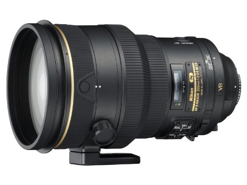 Nikon AF FX NIKKOR 200mm f/2G ED Vibration Reduction II DSLR Lens