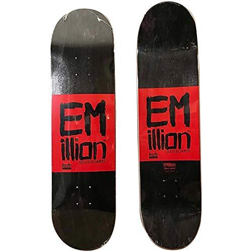 Emillion Skateboard Deck Roots, Größe:8.375, Farben:no Color