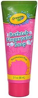 Crayola Bathtub Finger Paint Soap 5 Pack