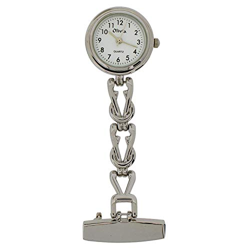 The Olivia Collection Fancy Chain Nurse Fob Watch TOC06