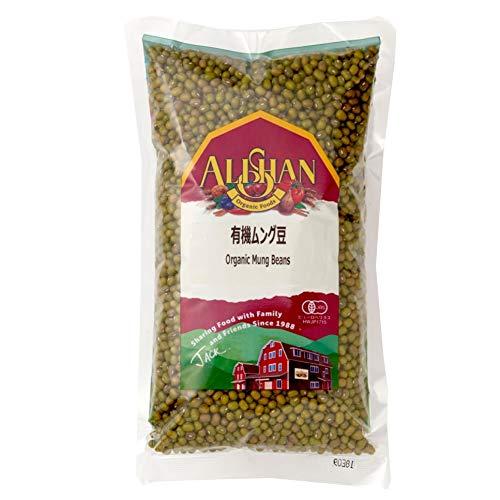 無添加 有機ムング豆 500g ★ ネコポス ★ 小豆の仲間で緑豆とも呼ばれます。スプラウトして緑豆もやしとして食べるのもおいしくて栄養満点です。甘く煮て白玉を浮かべればぜんざいにも!