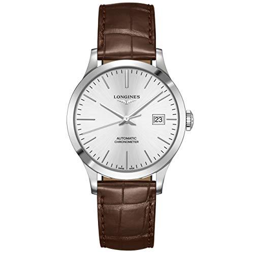 Longines orologio uomo Record collection 38,5mm automatico acciaio L2.820.4.72.2