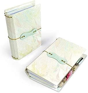 Sizzix 663638 ScoreBoards XL Die Pocket Notebook by Eileen Hull, Multicolor