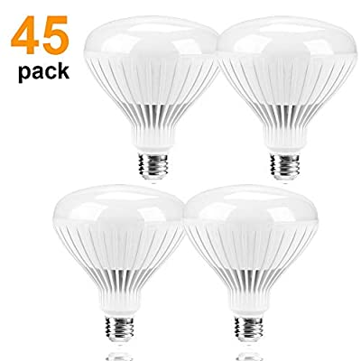 45 Pack LED BR38 BR40 Dimmable LED Bulb 14W (75...