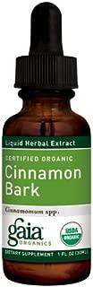 Cinnamon Bark Certified Organic Gaia Herbs 1 oz Liquid