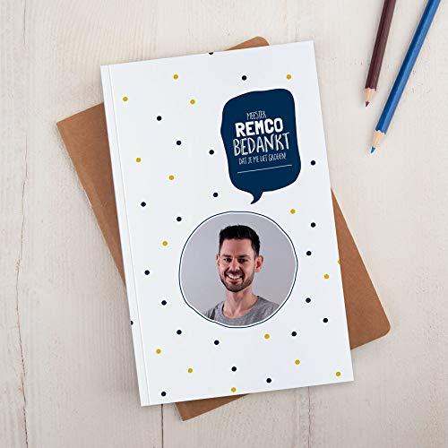 Juf / Meester notitieboekje bedrukken - A5 - Softcover