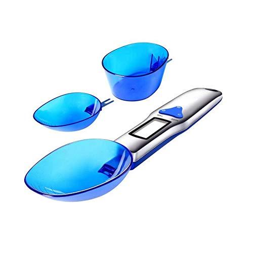 Cuillère À Mesurer Digital Cuisine Louche Electronique Balance Pèse Doseuse Ingrédients Cuillère Balance Électronique Balance 3 Taille Alimentation En Eau Bleu Scoop Avec Affichage Numérique