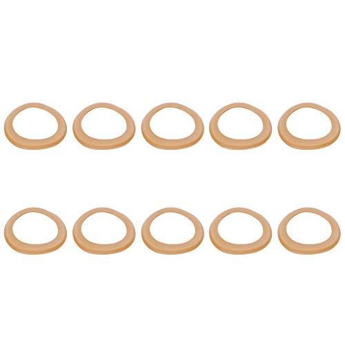 Gummi-Isolierringe Luftpumpe Lederbecher 68 x 48 x 1 mm Zylinder Gummi-Ring verschleißfest Gute Abdichtung Pufferring für Pumpe für Öl-8209