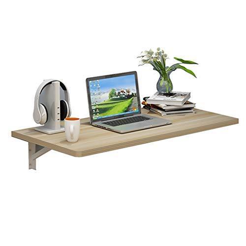 HAOT Mesa Plegable de Pared Mesa de Trabajo Plegable Mesa Plegable, Escritorio para computadora, para Oficina en el hogar/lavadero/Barra para el hogar/Cocina y Comedor