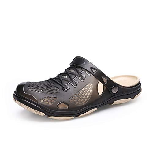 Hole Shoes Croc Men Green Garden Casual rubberen klompen voor heren Mannelijke sandalen Zomerglijbanen Crocse Swimming Jelly Shoes 7