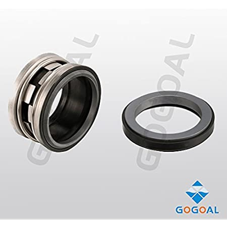 Gogoal Mechanical seal TYPE21 shaft size 1 3//8 inches for Replace John Crane 21-1 3//8 and FLOWSERVE-1 3//8 industrial pump and water pump