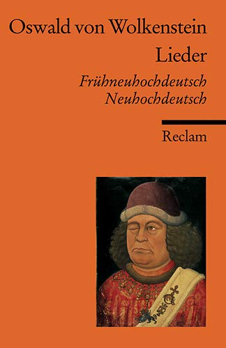 Lieder: Frühneuhochdt. /Neuhochdt. (Reclams Universal-Bibliothek)