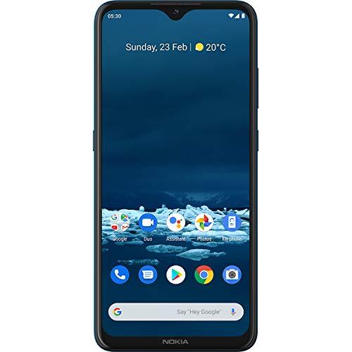 Nokia 5.3 Smartphone Dual-SIM 4GB/64GB, Android 10.0, Versione Italiana, Ciano