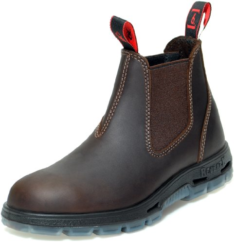 RedbacK Boots UNPU Great Barrier Water Resistant - Puma Brown Leather (US11/AU10 Mens)