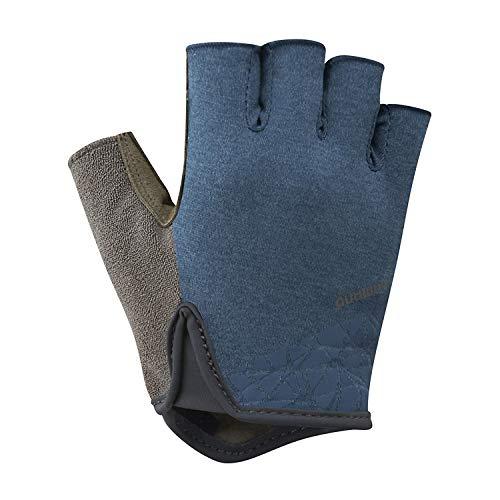 SHIMANO Guanti da Ciclismo Transit Gloves Navy Tg. L