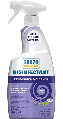 Gonzo Natural Magic Disinfectant - 24 Ounce Lavender - Disinfect Deodorize and Clean Your Home