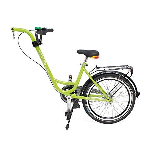 Diverse Trailer ADD + bike-3091803100, Bici. Unisex-Adulti, Verde, Taglia unica