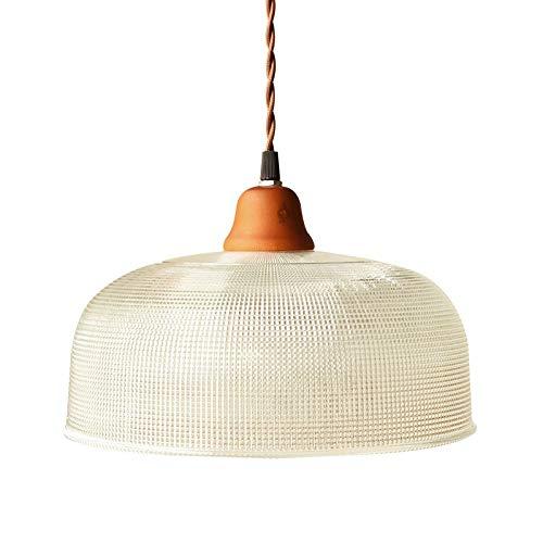 Zenghh Novela rústica rústica araña americana mosaico linterna de vidrio madera sólido techo colgante luz 1 lámpara agraciada miel de avena color colgante iluminación para leche té tienda casa casa de