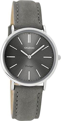 OOZOO Timepieces Damenuhr Leder/Sonstige analog Quarzwerk Lederband C8823