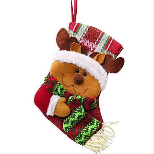 NOBRAND YYYGUI - Bolsa de Regalo para Botas de Navidad