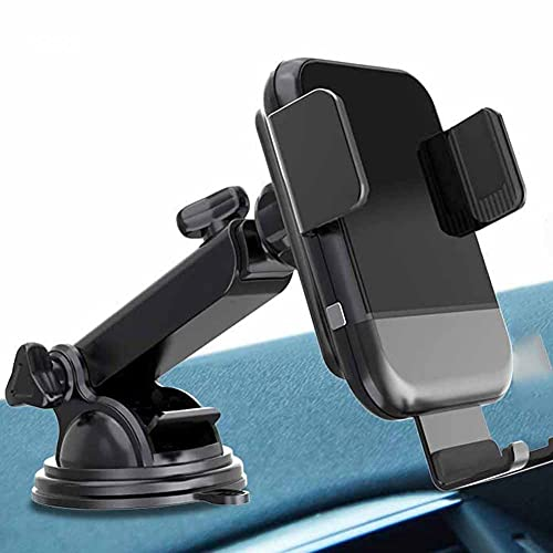 MRTYU-UY Cargador de coche inalámbrico rápido, 10 W 7.5 W soporte de carga inalámbrica para coche, soporte para teléfono de salpicadero, para iPhone 11 11 Pro Max XS XS Max X 8 Samsung S10