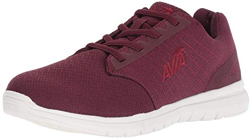 Avia Women's Avi-Solstice Sneaker, Tannin Purple/Snowline Ecru/Plum Pink, 9.5 Medium US