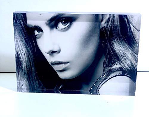 SAQUITOMAGICO Foto Impresa sobre Bloque de Metacrilato(acrílico) de 20 mm. Impresión UVI.- (15 x 20 cm).-Puedes incluir Texto.