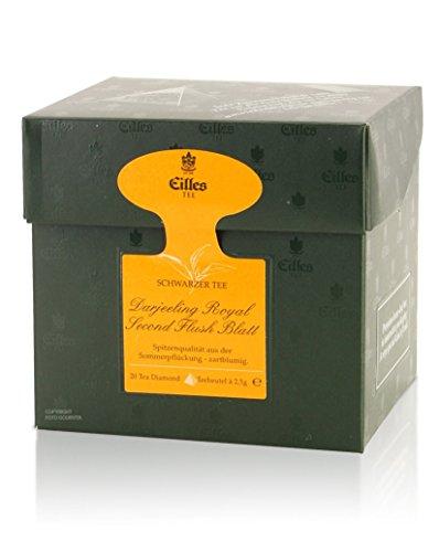 Tea Diamonds Darjeeling Royal Second Flush Blatt 20 Pyramidenbeutel