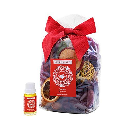 Claire Burke Decorative Potpourri & Fragrance Oil Starter Kit, Applejack & Peel Scent, 1 Count