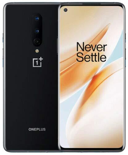 Oneplus 8 in2010 128gb 8gb ram (gsm only, no warranty) international version - no warranty (onyx black)