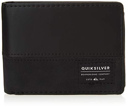 Quiksilver Accesorio de Viaje: Billetera Triple, M, Black