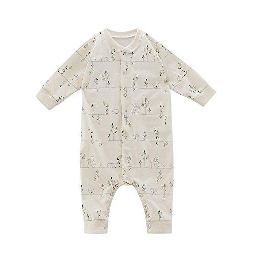 Living Crafts Grenouillère en coton bio pour bébé/enfant Taille 74/80