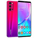 Teléfono Móvil Libre, ShaQx Rino4Pro Android 3G Smartphone Libre, 4GB ROM (32GB SD) Mobile Phone, 6.1' IPS Display Movil, 5MP + 2MP Dual Camera, Dual SIM, WiFi,Bluetooth,GPS (Rino4Pro-Rojo)