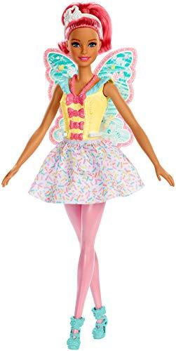 Barbie FXT03 - Dreamtopia Fee Puppe mit pinken Haaren, Puppen Spielzeug und Puppenzubehör ab 3 Jahren