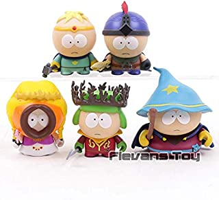 Kyle Cartman Kenny Stan Butters Jimmy South Park The Stick of Truth PVC Action Figure Collectible Toys 5pcs/Set