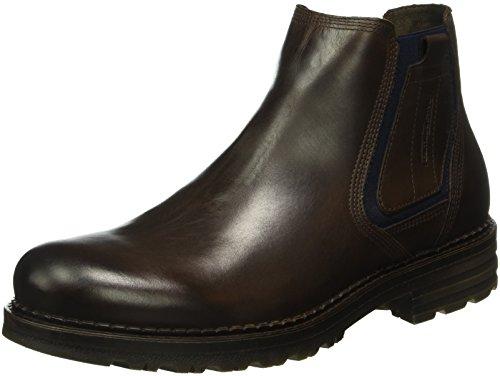 camel active Herren Seoul 15 Chelsea Boots, Braun (mocca 01), 44 EU