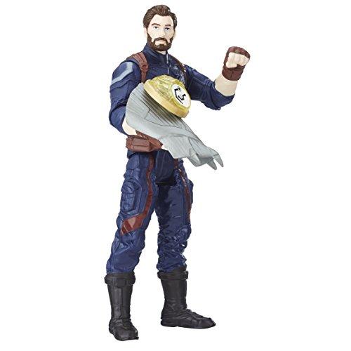 Avengers E1407EL2War Captain America con Infinity Stone