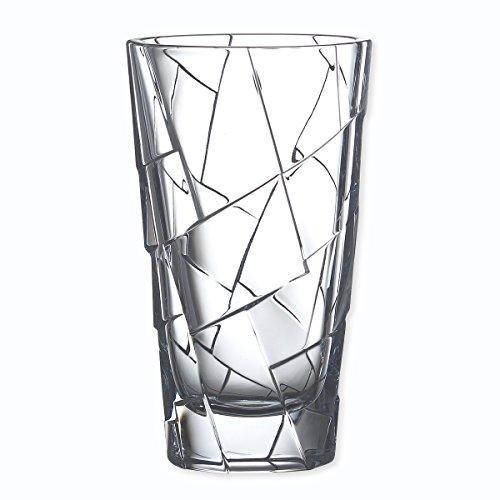 Bruno Evrard Vase en Cristal 30cm - Crack