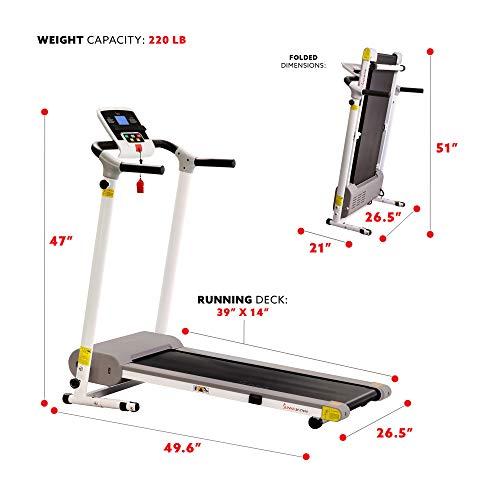 Sunny Health Electric Treadmill