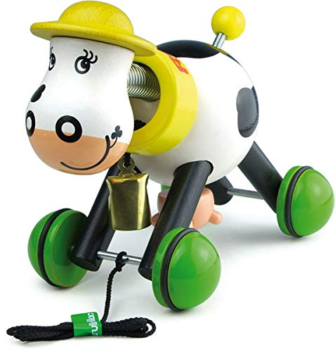 Best Review Of Vilac Pull Toy, Rosy The Cow