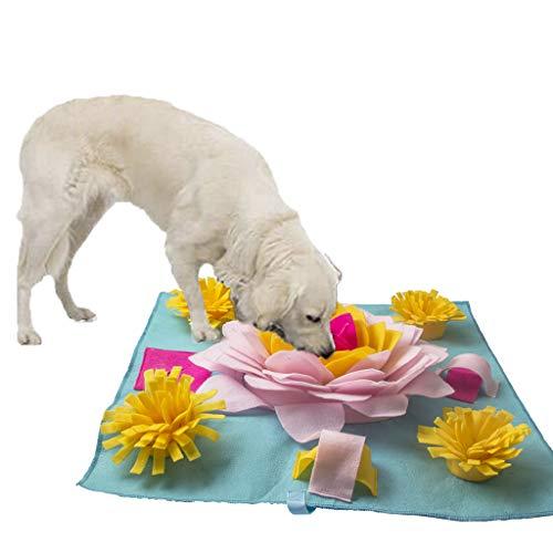 Aipinqi Hundetrainings-Unterlage für kleine Hunde, Schnüffelmatte, rutschfeste Haustier-Aktivitätsmatte für langsames Fressen, Futtersuche, Stressabbau