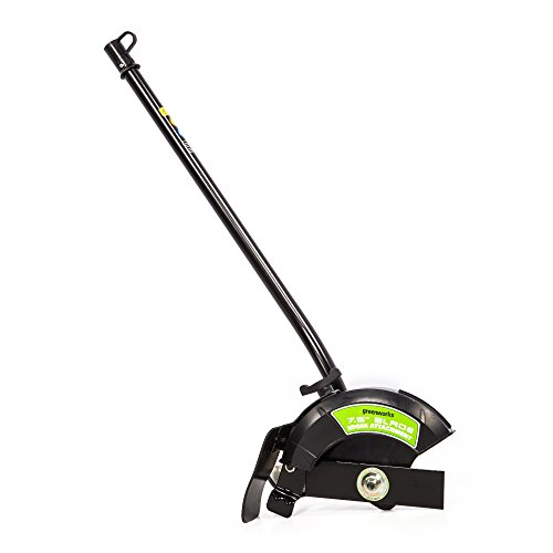 Greenworks EDA75 7.5' Edger Attachment, Black and Green