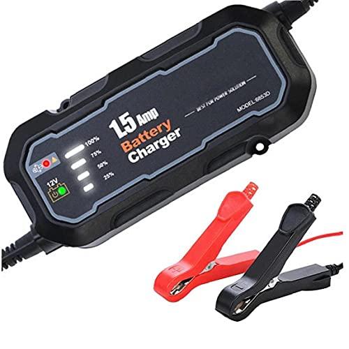 RRunzfon del Salto del Coche Arranque automático del Coche Cargador de batería portátil Mantenedor de batería de Coche Booster Pack, Cargador de batería