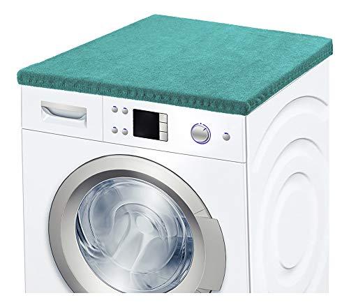 Ladeheid Waschmaschinenbezug Frotteebezug 50x60 cm (Türkis)