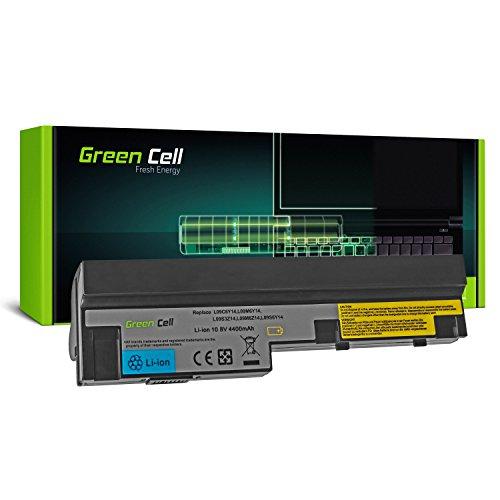 Green Cell® Standard Serie L09M3Z14 L09M6Y14 L09S6Y14 Laptop Akku für Lenovo IdeaPad S10-3 S10-3c S10-3s S100 S205 U160 U165 (6 Zellen 4400mAh 10.8V Schwarz)