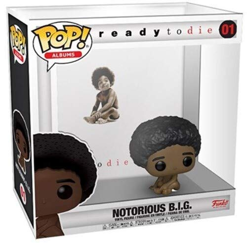 Funko Pop! Albums: Notorious B.I.G. - Ready to Die, with Hard Shell Case