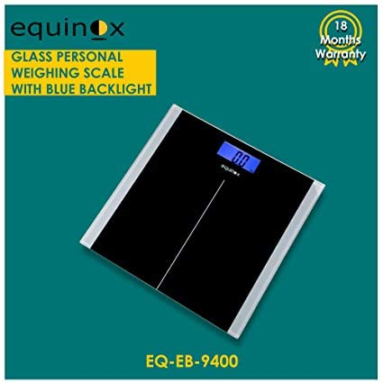 Equinox Personal Weighing Scale, Eq-Eb-9400