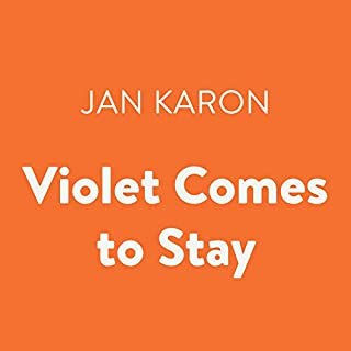 Violet Comes to Stay audiobook cover art
